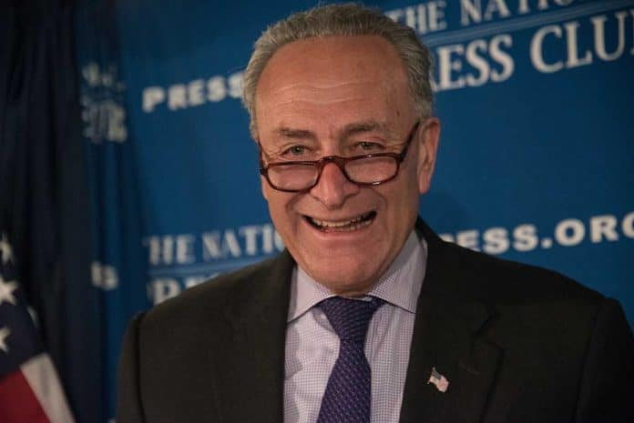 Chuck Schumer Supports MLB for Leaving Georgia