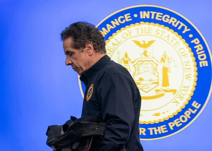 Andrew Cuomo Goes Dark After Making Promise