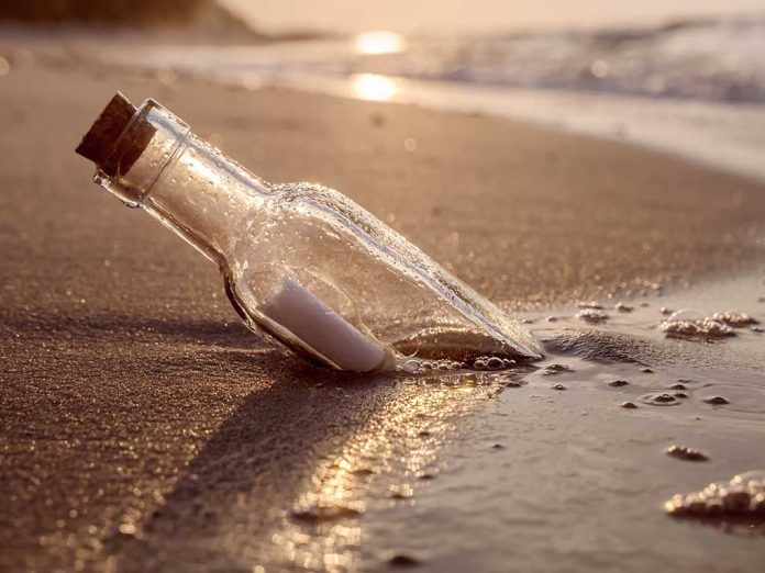 Message In a Bottle Found After Almost 40 Years
